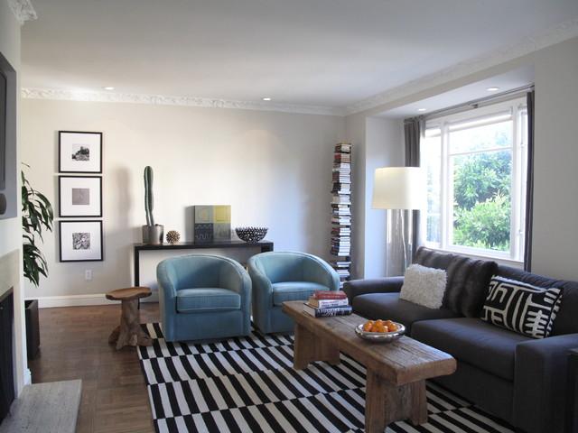Marina Living Room contemporary-living-room