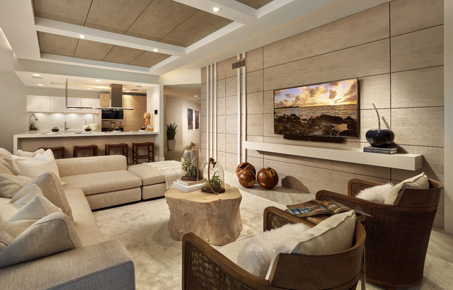 Marina Palms Yacht Club Residences North Miami Beach Contemporary Living Room