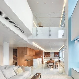 Market Street Penthouse Living room - Contemporary - Living Room - San Francisco - by Winder Gibson Architects