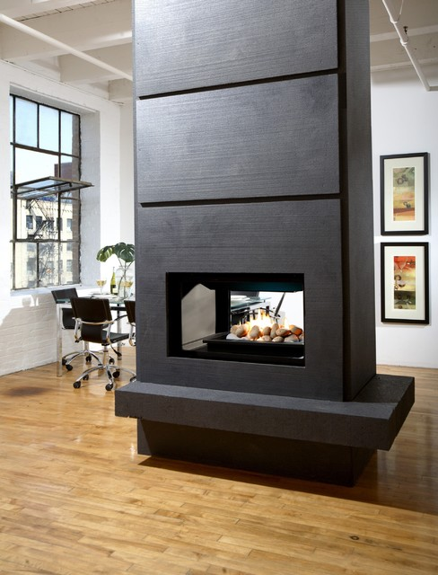 Marquis Gemini Multi Sided Fireplace Modern Living