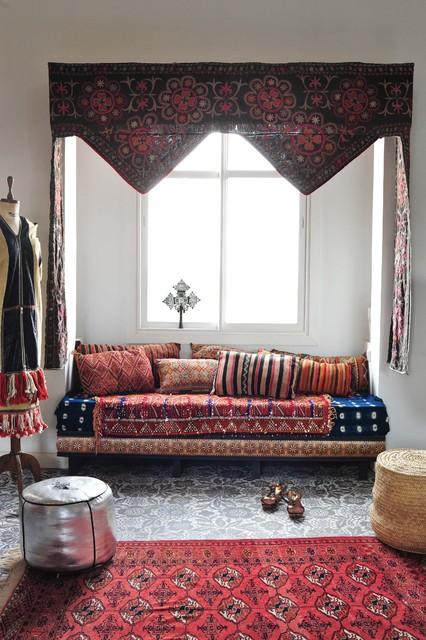 Marrakesh by Design Morrocan Homes Maryam Montague mediterranean-living-room