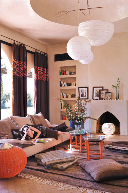 Moroccan Design Living Room Ideas - MessageNote