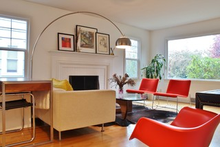 contemporary living room Test Your Midcentury Modern IQ [Quiz]