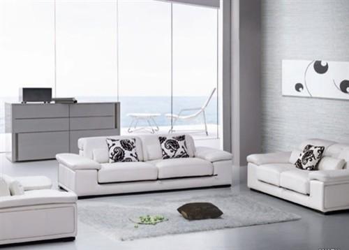 Marshon Contemporary Leather Sofa Set - $1849.99 - Contemporary ...