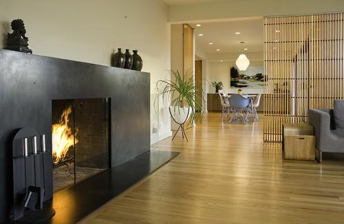 Martin residence modern living room