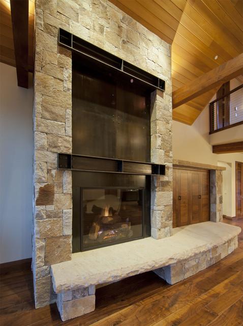 Martis CAmp Residence contemporary-living-room