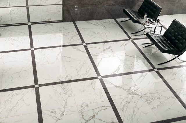 Marvel   Premium Italian Marble Look Porcelain Tiles Contemporary Living  Room Part 33