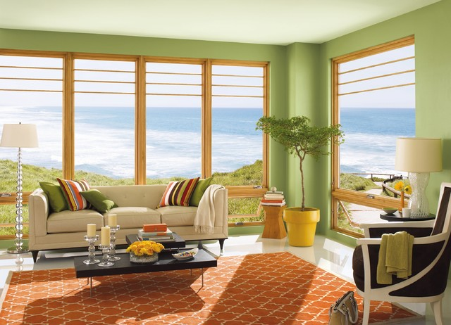 Marvin® Windows contemporary-living-room