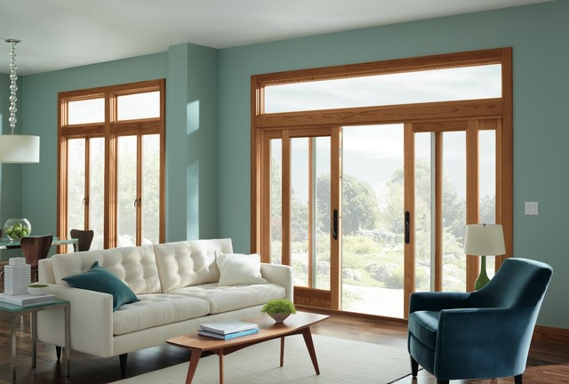 Marvin Windows and Doors modern-living-room