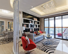 Mary's castle contemporary-living-room