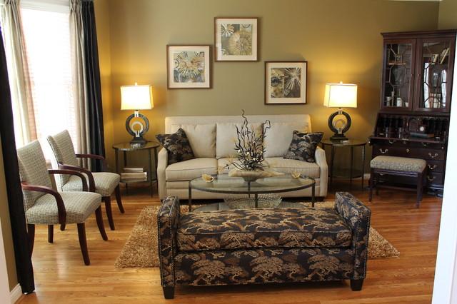 Mason, Ohio Residence traditional-living-room