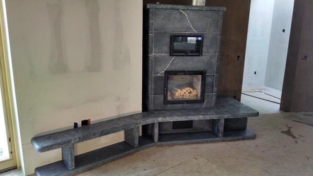 Masonary Heaters Living Room By Alberene Soapstone Company