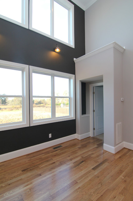 Master Bedroom Entrance Contemporary Living Room Raleigh By