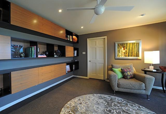 Smith Designs modern-living-room
