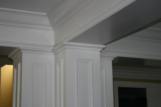 Matot Mouldings Columns Mediterranean Living Room Miami By Matot Moul