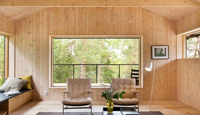 wandvert felung mit holz 13 ideen f r eine holzvert felung. Black Bedroom Furniture Sets. Home Design Ideas
