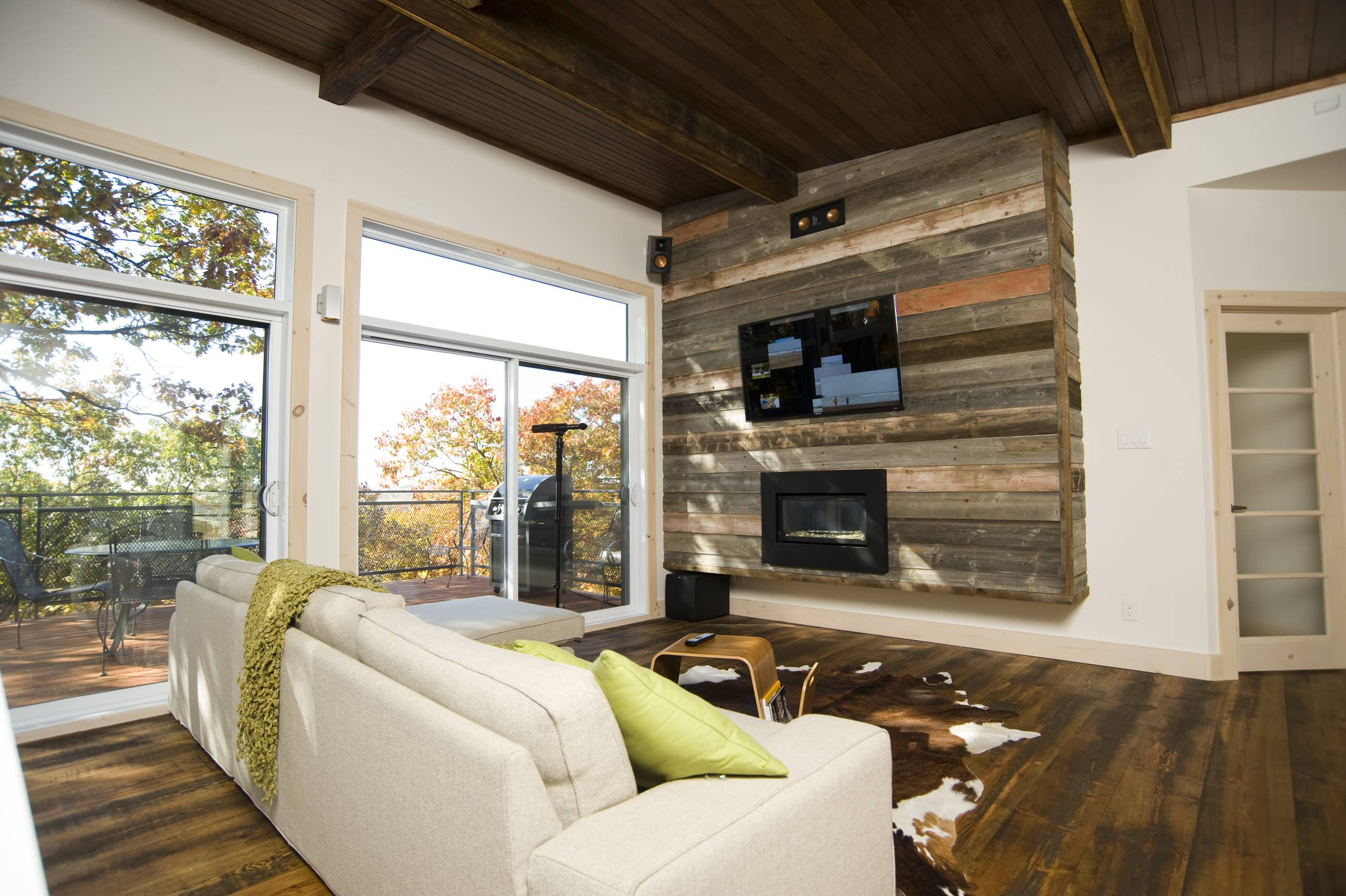 Accent Wall With Tv Houzz