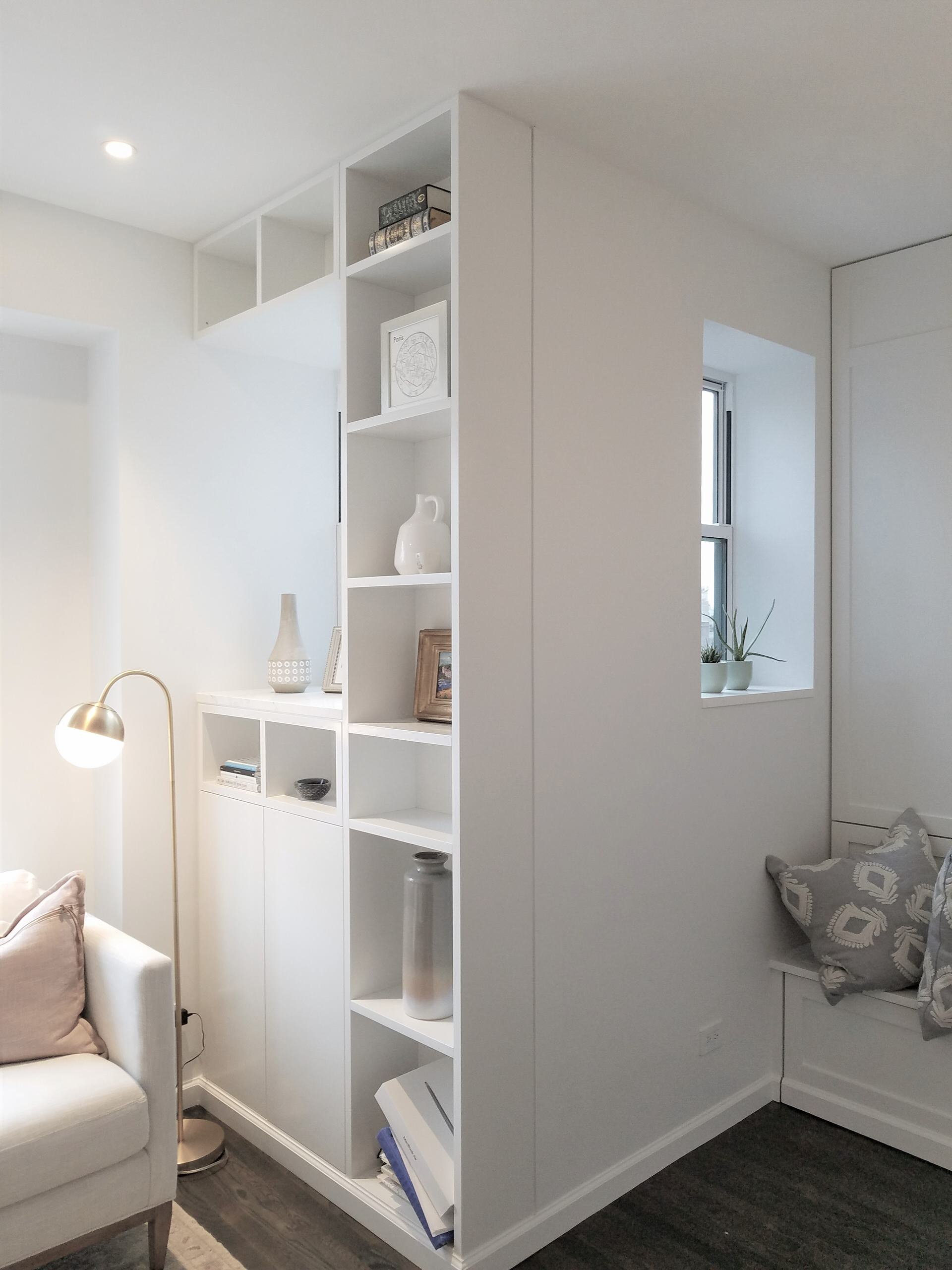 Maximizing small NYC apartment spaces