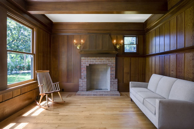 Maybeck House traditional-living-room