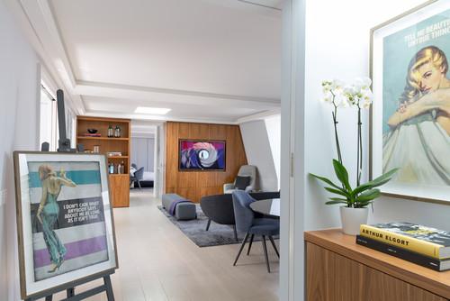 แปลนแบบคอนโดสองห้องนอน 10 Mayfair Penthouse
