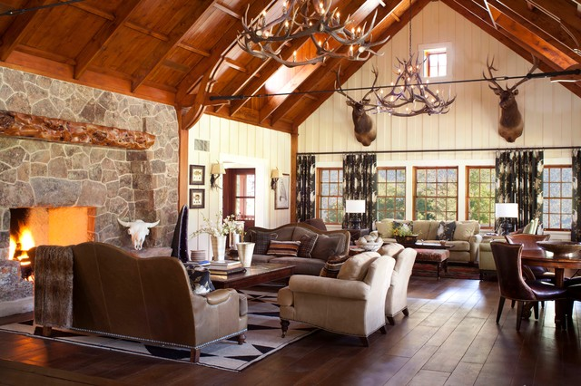 Mccoy Colorado Rustic Living Room Denver By Ashley