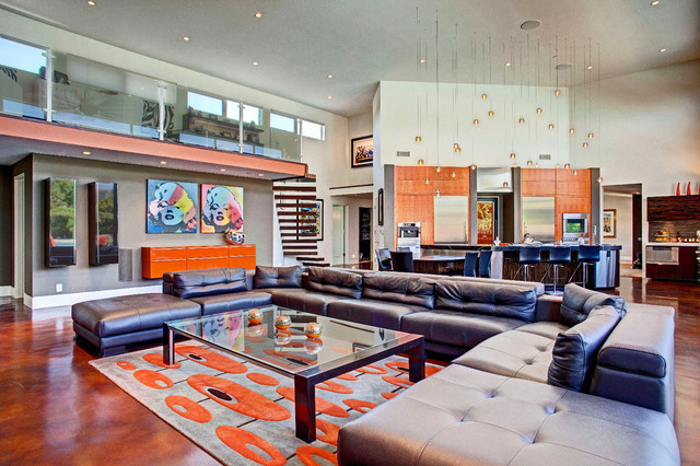 Mcelroy Project Eclectic Living Room Orange County