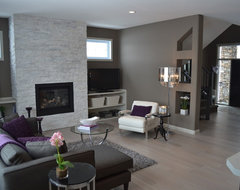 McGonigal Signature Homes modern living room