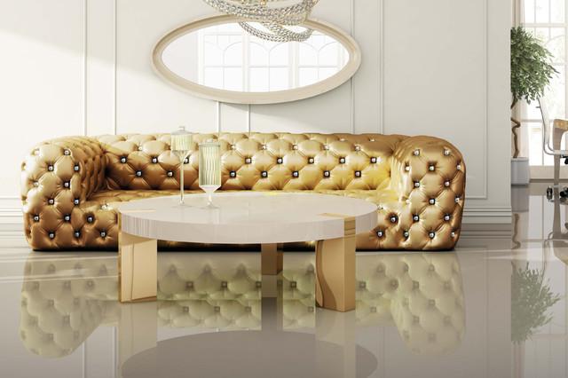 md karen tufted sofa swarovski crystal buttons. Black Bedroom Furniture Sets. Home Design Ideas