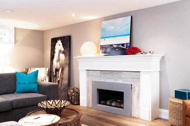 Meadowvale - Etobicoke contemporary-living-room
