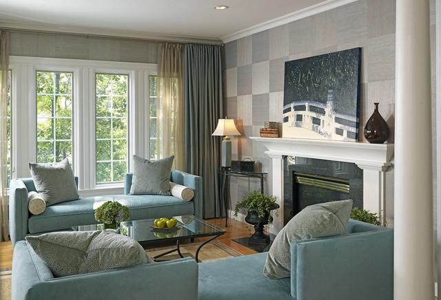 Medfield Residence traditional-living-room