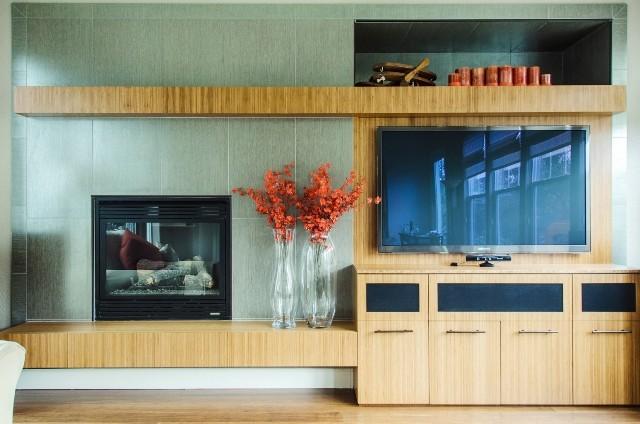 Media Cabinets modern-living-room