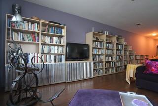 media centers storage transitional living room