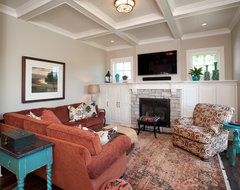 Medina Luxury Home traditional living room