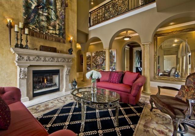 Mediterranean Mediterranean Living Room Seattle By