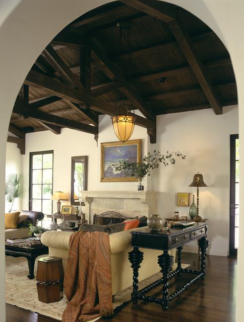 Mediterranean Classic mediterranean-living-room