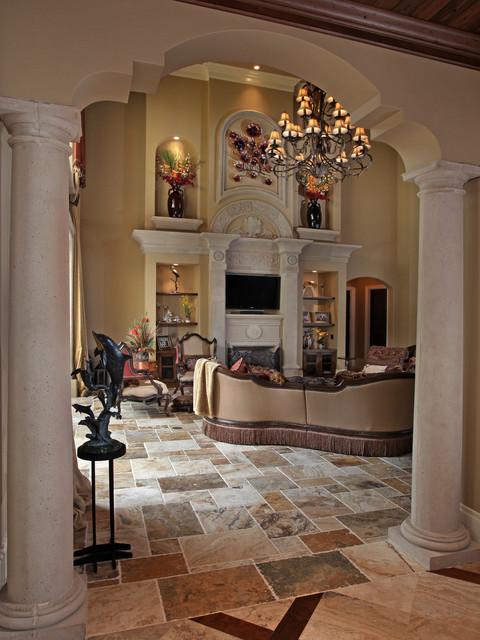 Mediterranean Dream mediterranean-living-room