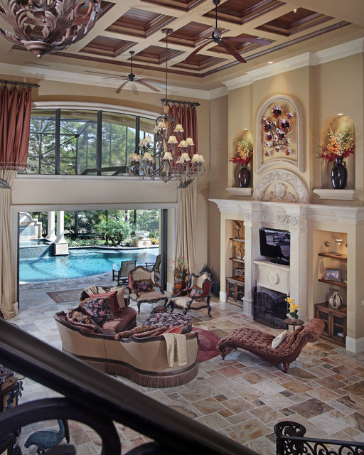 Mediterranean Style Living Room Design Ideas: Mediterranean Dream