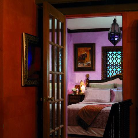 Mediterranean interiors mediterranean-living-room