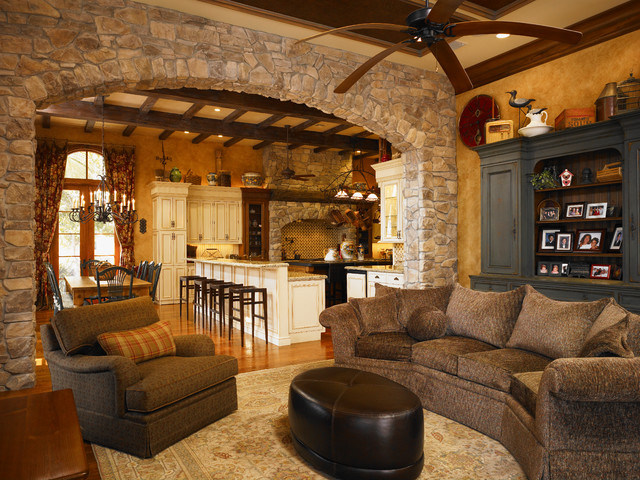 Tuscan style for Tuscan living room furniture