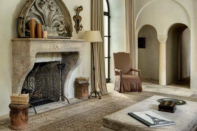 Interiors mediterranean-living-room