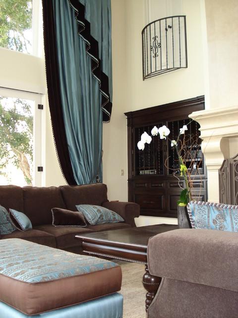 Mediterranean Living Room traditional-living-room