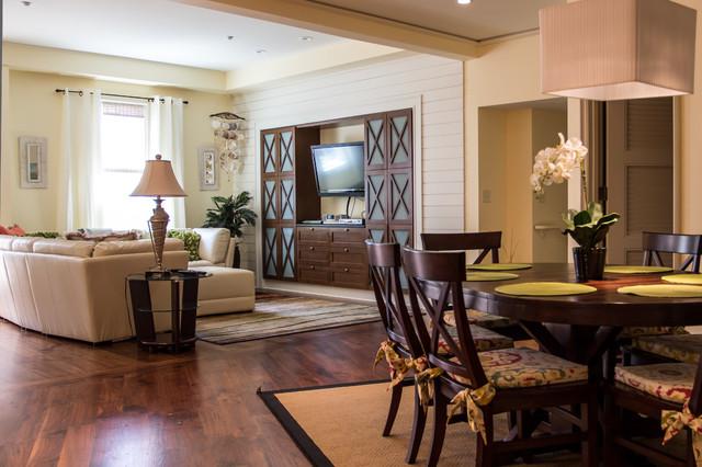 Barrett Place mediterranean-living-room