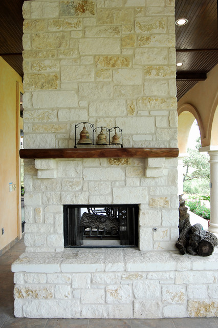 Fireplaces By Stadler Custom Homes Mediterranean