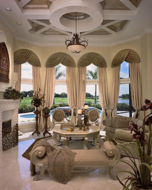 Mediterranean Style Living Room: Viva India Villa