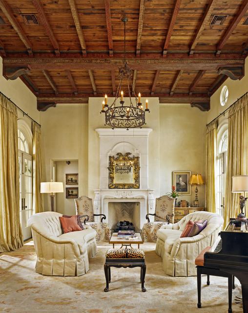 Italian Bluff mediterranean-living-room