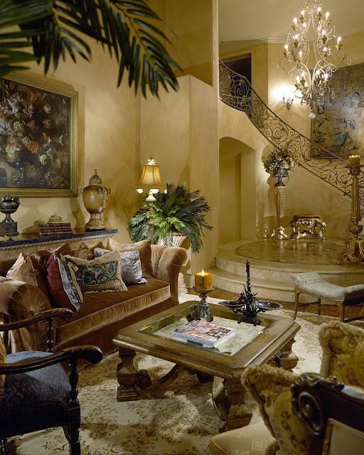 Tuscany Living Room Mediterranean Living Room San Francisco