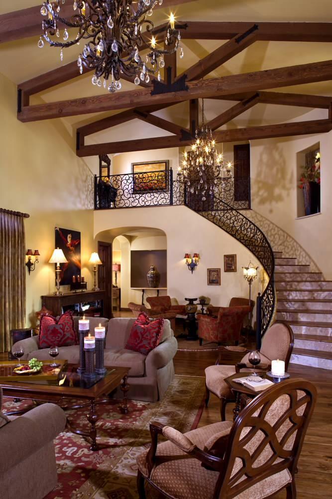 Italian Living Room Houzz