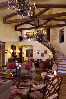 Tuscan Style Living Room Decor