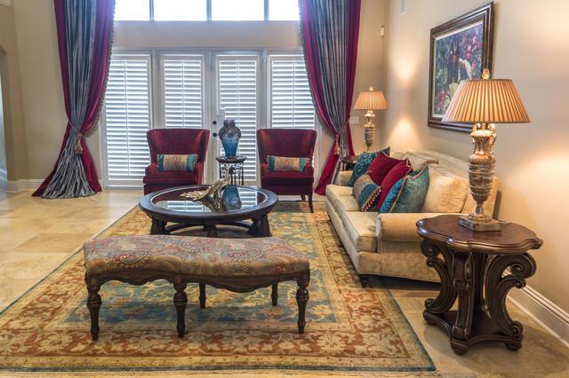 Mediterranean Morocco Traditional Living Room Miami By Jenny Velasquez Mannucci Jnj