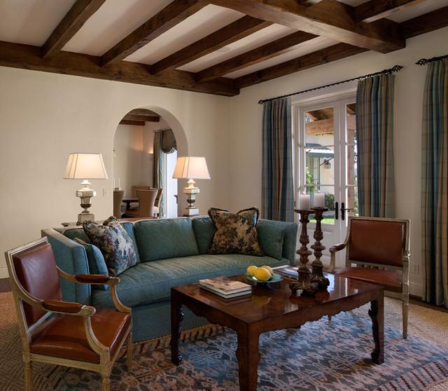Mediterranean Residence mediterranean-living-room